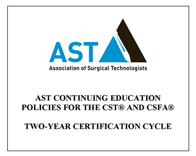 AST CE Policies - Two-Year