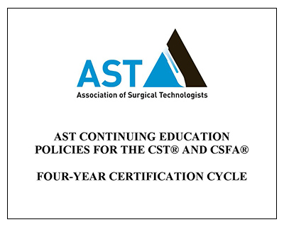 AST CE Policies - Four-Year